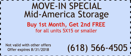 Mid-America Storage Move-In Special- Buy 1st Month Get 2nd FREE  sc 1 th 147 & Mid America Storage Provides Personal u0026 Business Storage Units in ...