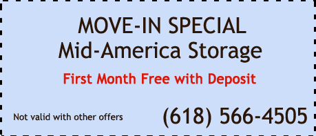 Mid-America Storage Move-In Special- First Month Free with Deposit